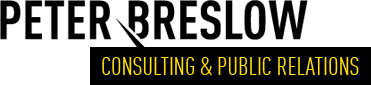 Peter Breslow Consulting Public Relations
